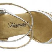 Diamant  035-087-013 Damen Tanzschuhe Latein silber