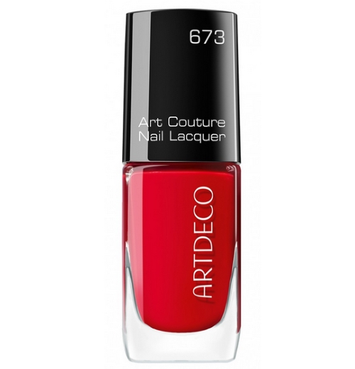 Artdeco Art Couture Nail Lacquer unisex, Nagellack, farbe 673 couture red vulcano